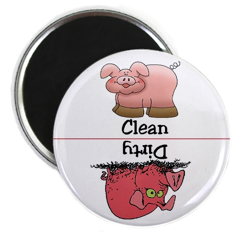 clean dirty pig